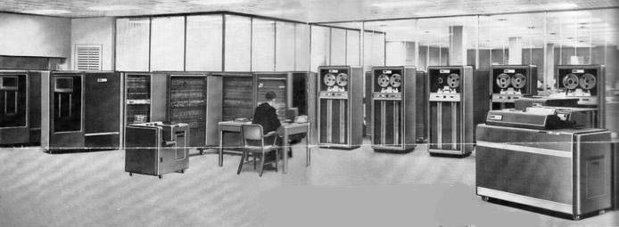 IBM 704 LJ at Console