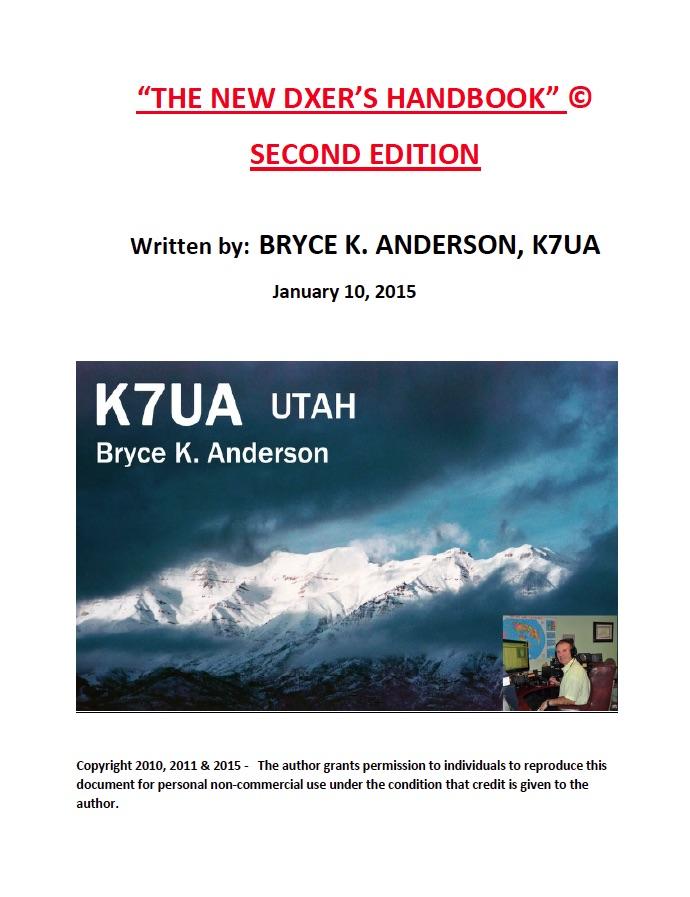 K7UA's DX Handbook