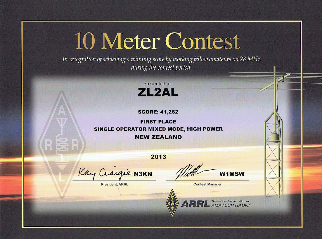 The ARRL 10M Contest is for single band operation and is very popular during the years when the Solar sunspot activity is high